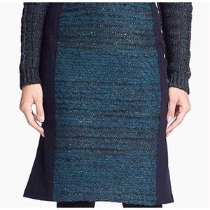 TORY BURCH Wool/Poly Skirt EUC XL
